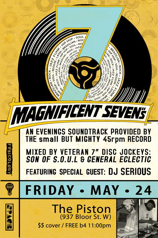 "MAGNIFICENT SEVEN""S! @ THE PISTON (05.24.13)"